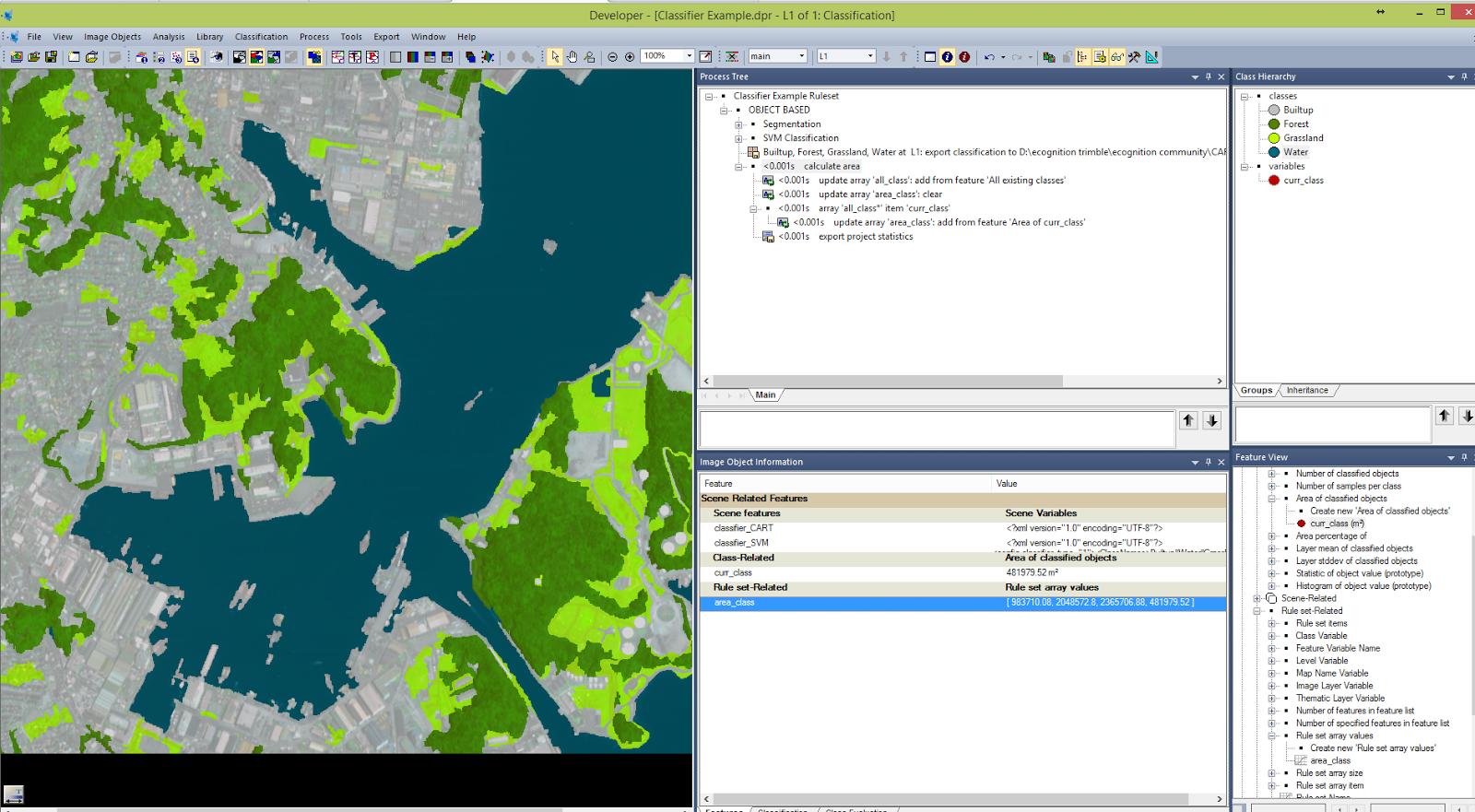 QGIS, remote sensing, Matlab, ENVI, Python, eCognition: November 2014