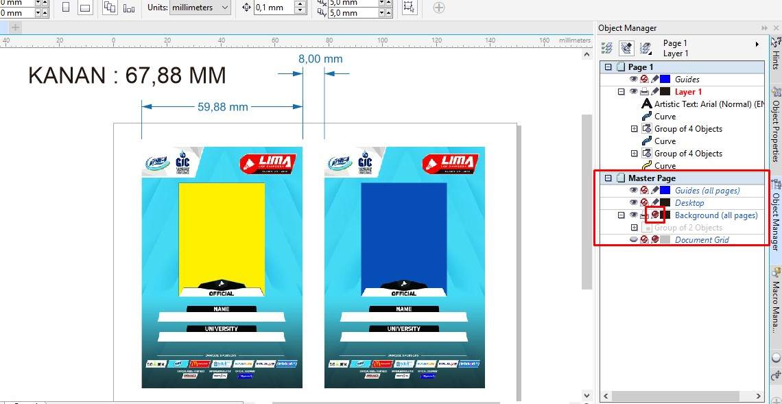GRAFISin CSVMerger V5 : Fast and Auto ID Card for CorelDraw from
