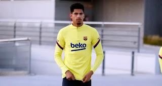Barcelona defender Ronald Araujo returns to first-team training