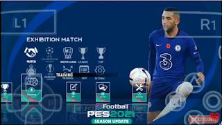 Download PES 2021 PPSSPP Season Update Chelito V2 BEST GRAPHICS & Update Full Transfer 2020/21