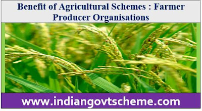 Benefit of Agricultural Schemes