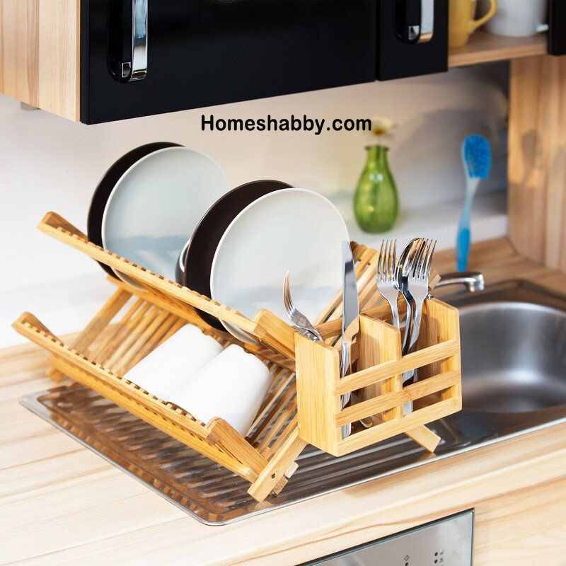 6 Model Rak Piring Untuk Dapur Sempit Terkesan Rapi dan ...