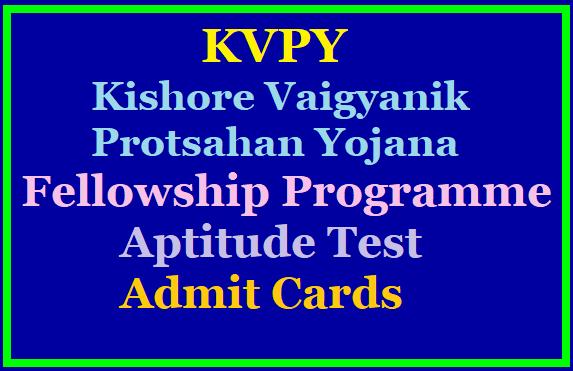 Kishore Vaigyanik Protsahan Yojana Fellowship Programme-KVPY Aptitude Test Admit Cards 2019 /2019/10/kishore-vaigyanik-protsahan-yojana-fellowship-programme-kvpy-aptitude-test-admit-cars-2019-www.kvpy.iisc.ernet.in.html