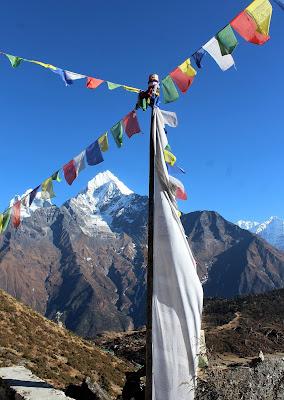 Drapeaux de prières Népal