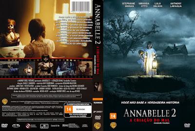 Filme Annabelle 2 - A Criação Do Mal (Annabelle - Creation) DVD Capa