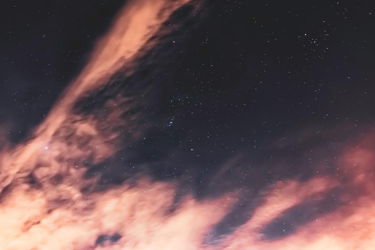 Vastness, Sky, Stars, Faith