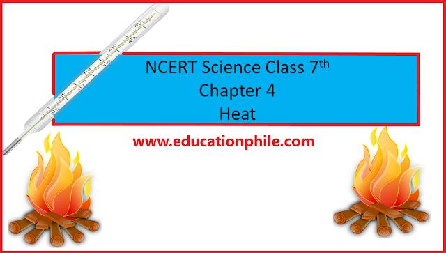 NCERT Class 7th Science Chapter 4 Heat, NCERT Science Solutions,NCERT Solutions,NCERT Solutions Class 7, www.educationphile.com, Heat, Conduction, convection, radiant heat, sea breeze, land breeze