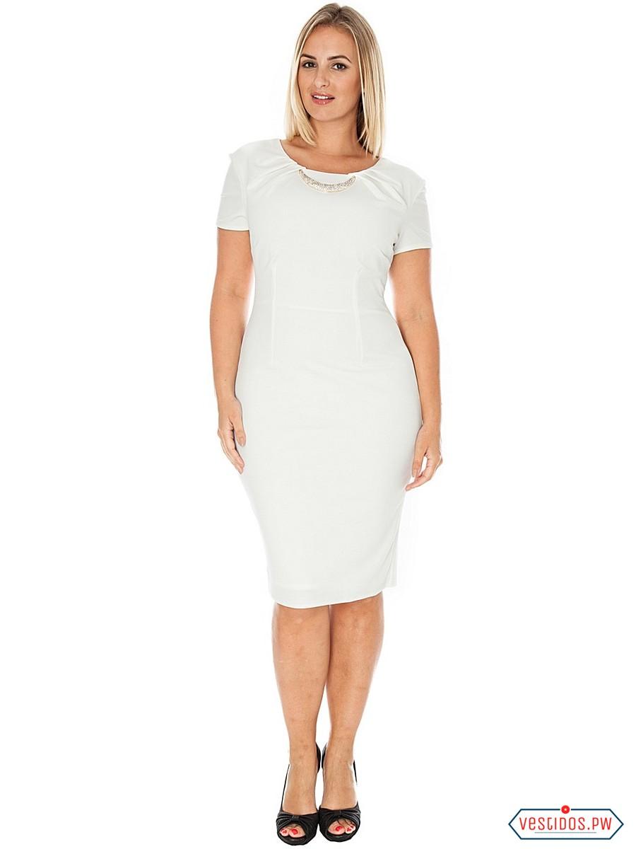 Vestidos Blancos Para Gorditas Coleccion 2018 Vestidos
