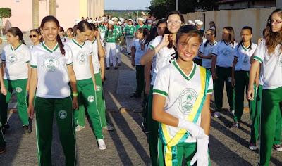Resultado de imagem para fotos de alunos no 7 de setembro e sao paulo do potengi