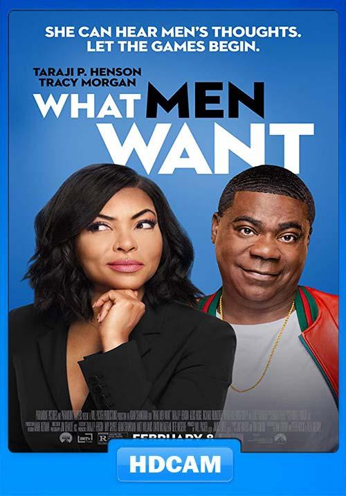 What Men Want 2019 720p HDCAM x264   480p 300MB   100MB HEVC