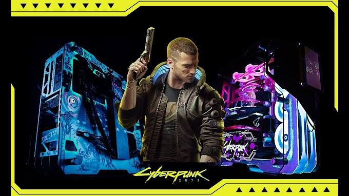 Sorteio de um PC Gamer Personalizado Cyberpunk 2077