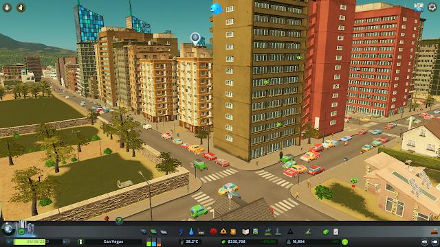 Cities Skylines Pemandangan kota