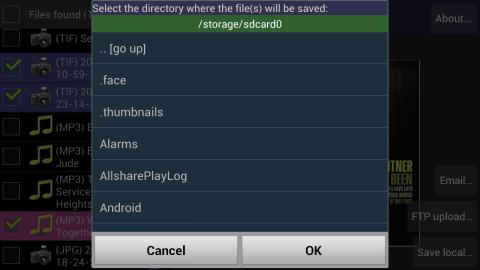 File yang terhapus di Android