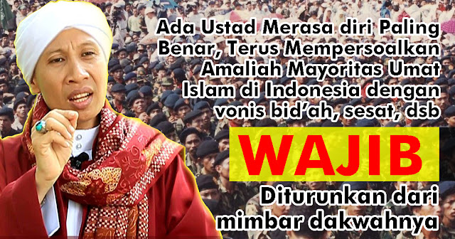 Dukung Aksi Banser, Buya Yahya: Ustadz yang Terus Mempersoalkan Perbedaan Keyakinan, WAJIB Diturunkan dari Mimbar Dakwahnya