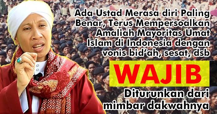 Buya Yahya Dukung Aksi Banser Hentikan Ceramah Ustadz Ekstrimis - Puritan di Sidoarjo