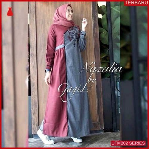 UTM202N81 Baju Nazalia Muslim Dress UTM202N81 0CA | Terbaru BMGShop