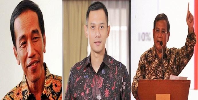 Pilih Mana di Pilpres 2019? Jokowi-AHY atau Prabowo-AHY?