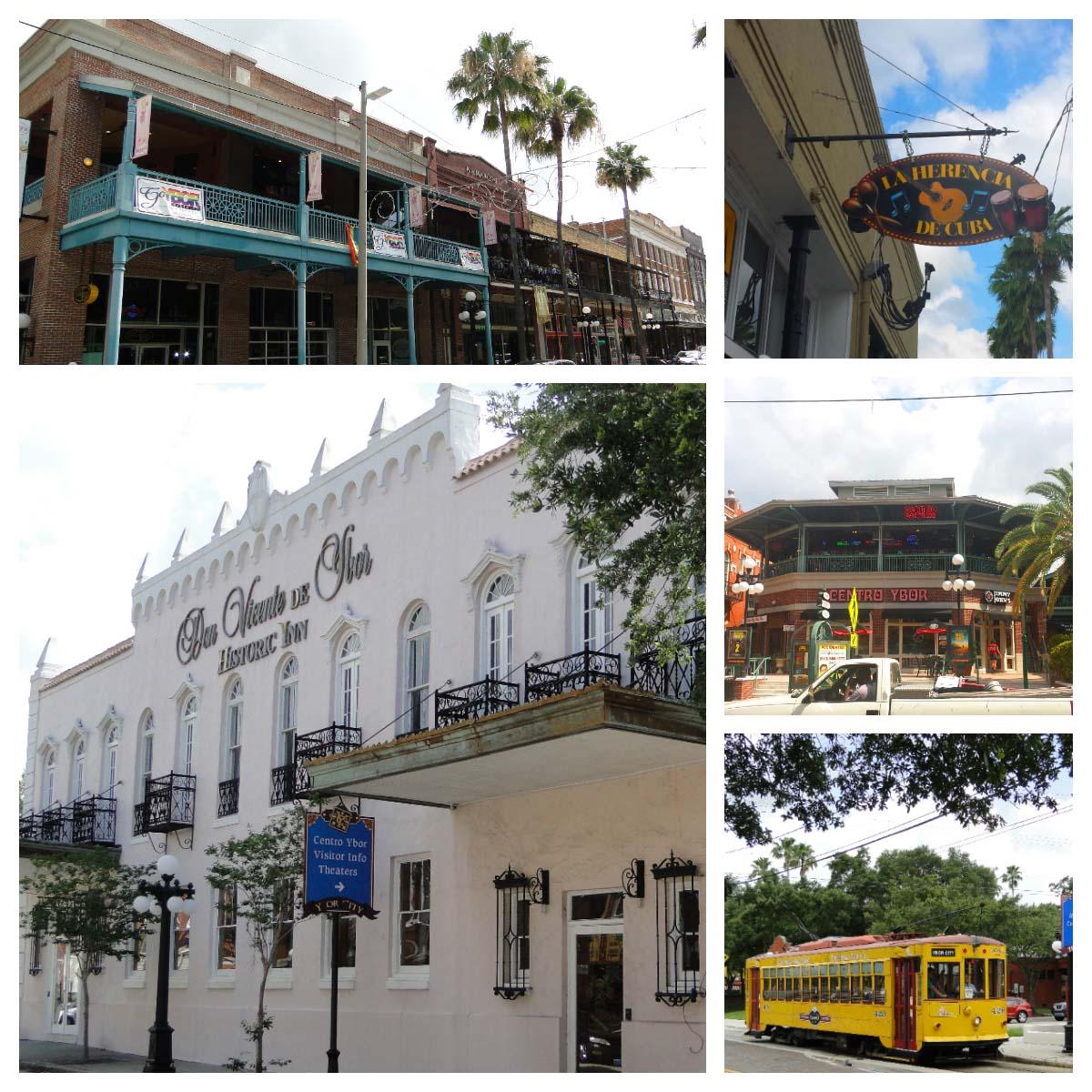 Ybor City em Tampa, EUA