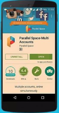 cara menyadap wa dengan parallel space