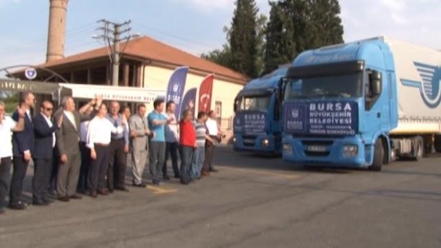 Hilfe eilt aus allen Himmelsrichtungen nach Skopje