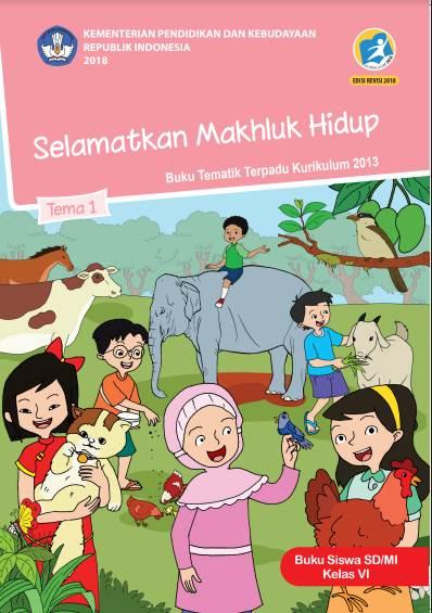 Buku K13 Kelas 6 revisi 2018