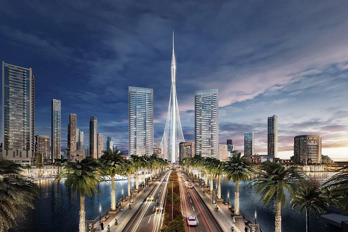 santiago calatrava han anunciado que el rascacielos uthe tower at dubai creek harbourhau ha comenzado ha construirse para convertirse en el edificio