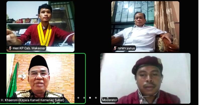 Perkuat Toleransi Antara Umat Beragama, PMKRI Makassar Gelar Webinar