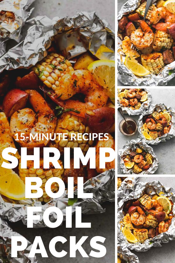 shrimp Boil Foil Packs - Royalchef