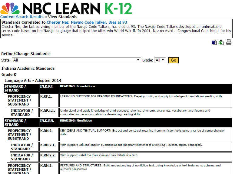 Idoe digital learning month blog i have used nbc learn for my shakespeare unit poetry unit and for teaching my students about historical or current events such as 911 the civil rights fandeluxe Choice Image