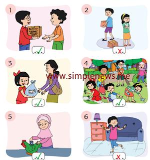 Berikanlah centang pada gambar yang menunjukkan contoh sila kelima! www.simplenews.me