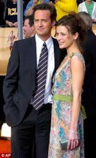 Matthew Perry With Ex Girlfriend Rachel Dunn