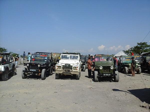 Sewa Jeep Lava Tour Merapi Jogja