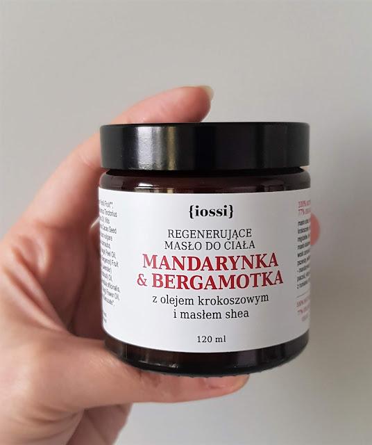 Iossi regenerujące masło do ciała mandarynka i bergamotka