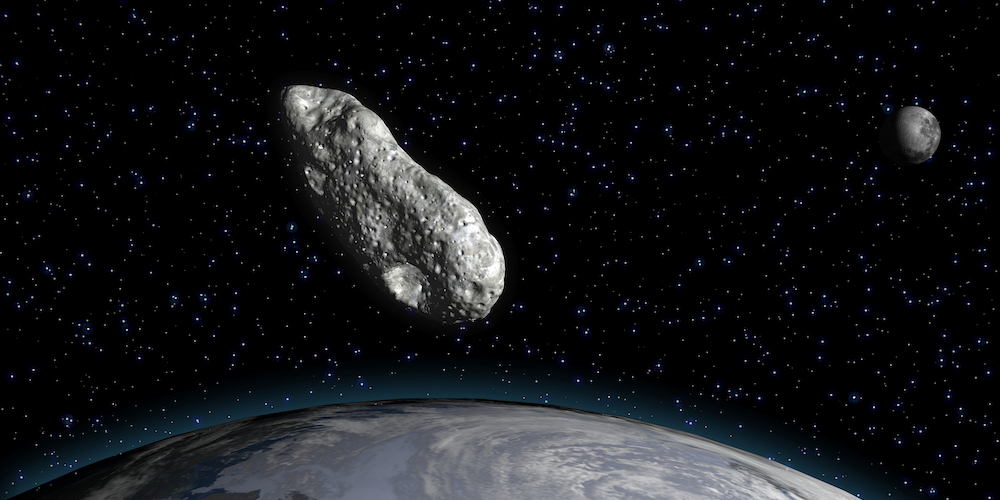 JF1, asteroid