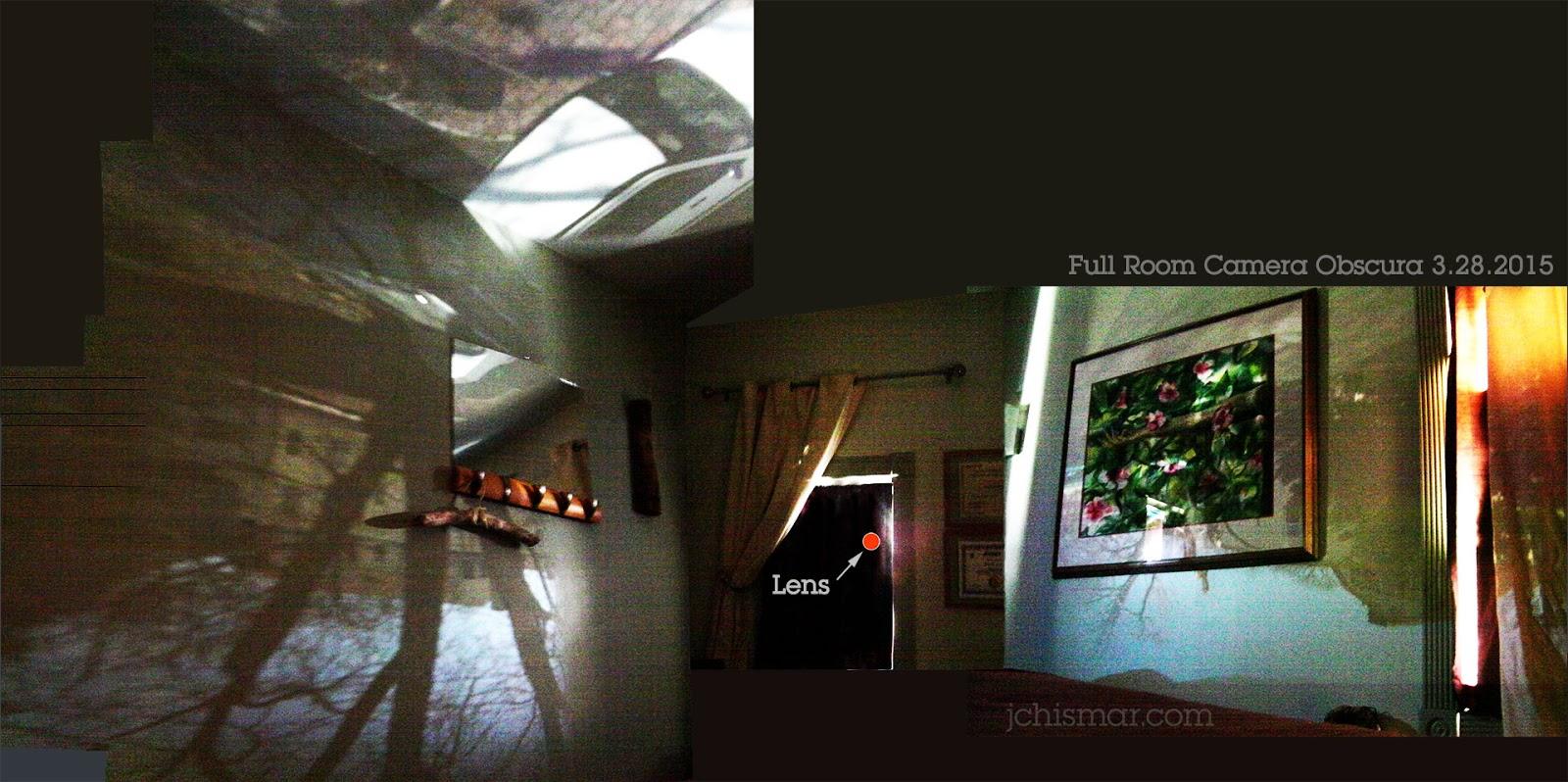 full room camera obscura