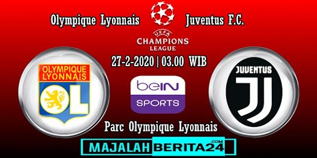 Prediksi Lyon vs Juventus