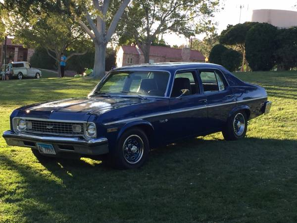 "Old School Muscle, 1973 Chevy Nova, ""SLEEPER"""