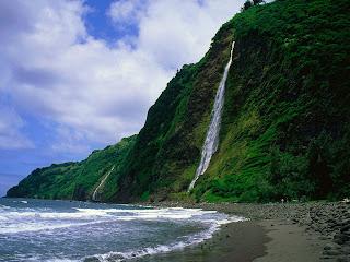 Kaluahine Waterfall252C Waipio Valley252C Hamakua Coast252C Hawaii   erc