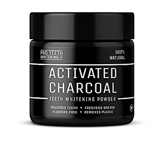OFFER Activated Charcoal Natural Teeth Whitening Powder Pro Teeth Whitening £9.49