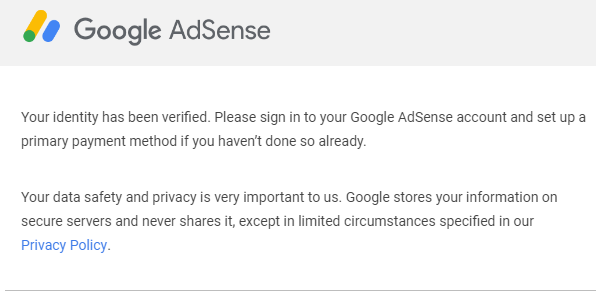 Cara Saya Diterima Verifikasi Identitas Google Adsense Dengan KTP