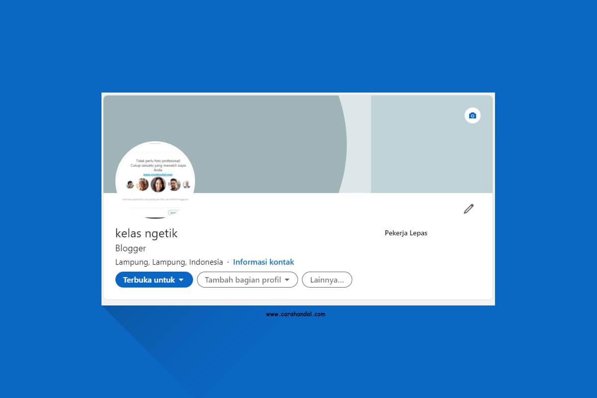 Cara Mengubah Nama Profil Akun LinkedIn