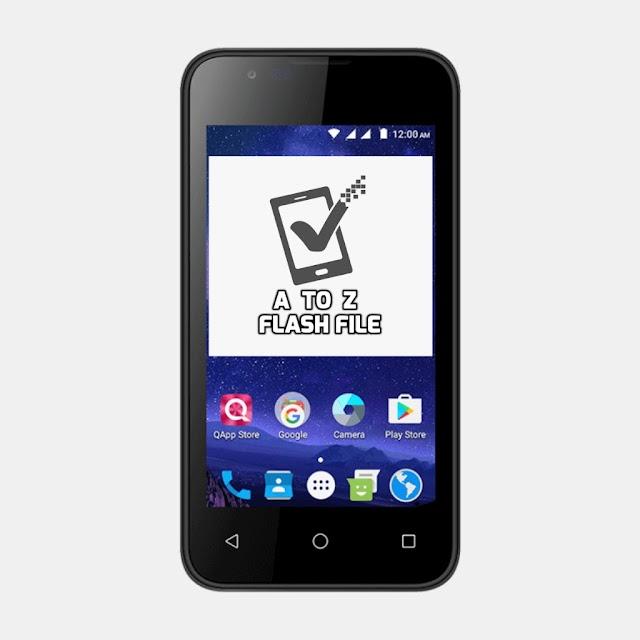 Q Mobile New Model X36 Flash File Stock Firmware ROM