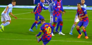 29 هدفاً سجلهم ميسى من ركلات حرة مع برشلونة فى لاليغا خلال 8 سنوات