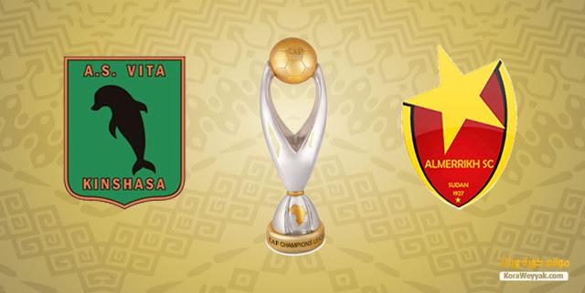 نتيجة مباراة فيتا كلوب والمريخ اليوم 9 ابريل 2021 في دوري أبطال أفريقيا