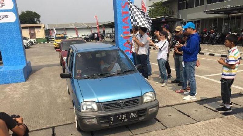 Daihatsu 'Gaek' Sampai Tahun Muda Ikut Mudik Massal