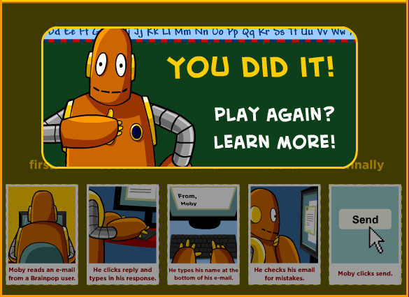 Tucker Tech Talk: Tech Tip Tuesday ... GAMEUP (from BrainPOP!)