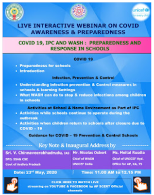 Live interactieve webinar on covid awareness & preparedness