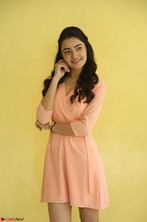 Rukshar Mir in a Peachy Deep Neck Short Dress 110.JPG