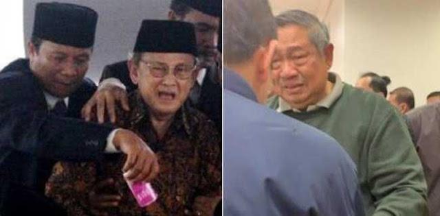 Pernyataan Habibie Dan SBY Yang Viral Setelah Ditinggal Istri Tercinta
