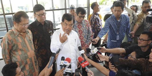 Wapres JK Tegaskan Pemerintah Tidak Melarangan Rizieq Shihab Kembali ke Indonesia